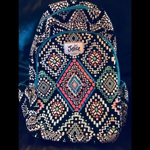 Justic girl school backpack